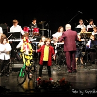 03.02.2014 TimoTi Sannikov&Alika Sannikova(sax)& Orchestra under the direction of Michael Bendikov, Bat-Yam, Israel