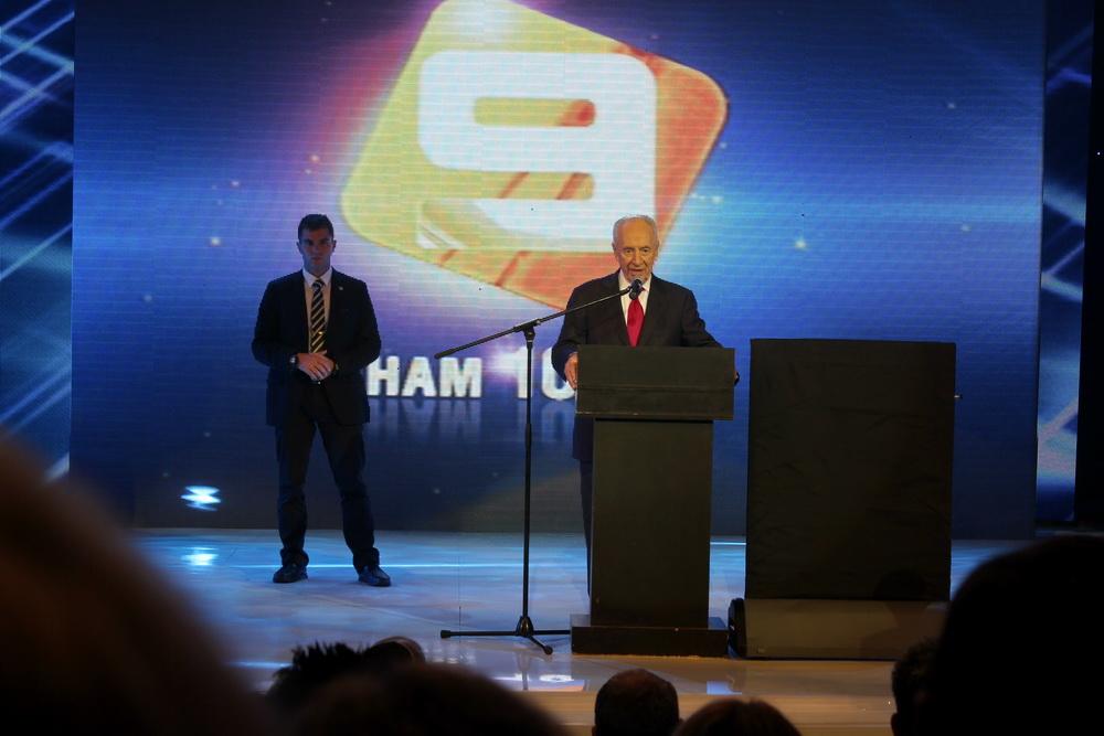 2013 02 07 Denis Sannikov : TV ,channel 9, Israel, Церемония